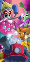 Catbug's away team by SemajZ
