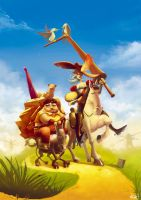 don quichotte by Magnusss