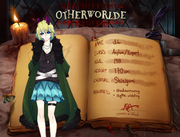Ida Otherworlde Application Year 10 by JeanaWei