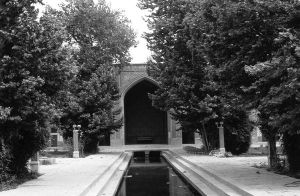 Iran Isfahan mosque 1970s by BlackWhitePictures