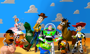 Toy Story by WeaponX-Art