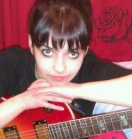 me and my brothers guitar :) by MercyTattoos