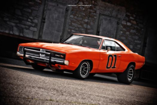 Extreme General Lee Charger by AmericanMuscle