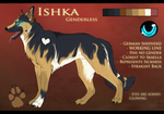. Ishka - reference Sheet . by Kasamm
