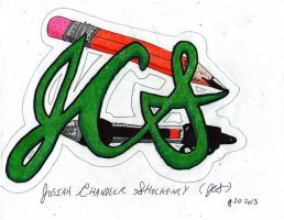 My Signature Initials by Josiah-Shockency-JCS