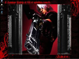 Dante - Devil May Cry by Anrakushi