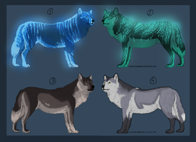 Adoptables - Wolf CLOSED by Anipurk