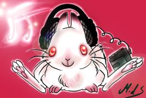 Music Bunny by M-I-D-S