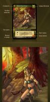 Design and art for collectible card game (fake) by Vadich