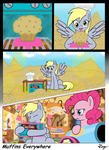 MLP:FIM - Muffins Everywhere by TikyoTheEnigma