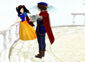 MMD Snow White and her Prince by Pucaroo16