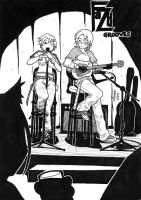 A Song For Two by kitsune-sin