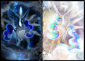 Sun and Moon by Anzhelee