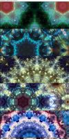 Psychedelic Kaleidoscope Patterns by BringThePlant