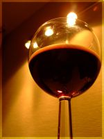 My glass of wine by inbalance