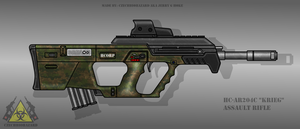 Fictional Firearm: HC-AR204c [Krieg] Assault Rifle by CzechBiohazard