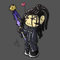 Xaldin likes to Stab Things by Laxia