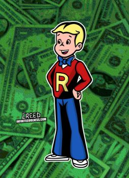 Richie Rich from The Richie Rich Show! by CreedStonegate