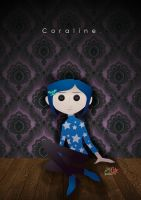 the other Coraline by IslaDelCoco