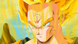 This is a Super Sayan by HayabusaSnake