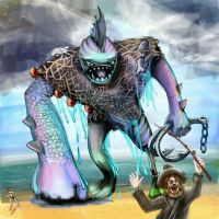 fishzilla by hrum
