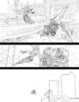 TitanFall Comic Page by PenclGuy