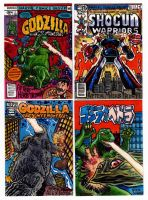 Comic Book Cover Recreation Sketch Cards by fbwash