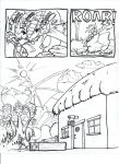 Stealin A  Egg Page 1 ink by evilbass159