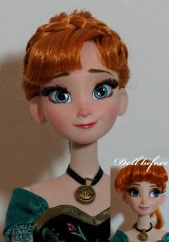 LE Coronation Anna OOAK Doll by lulemee