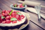 Strawberry-Brownie-Cake by Tiefenschaerfe