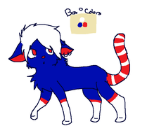 BOOP Kitty has a fourth of July form HAHAHAHAHAHAH by dovepaw3000