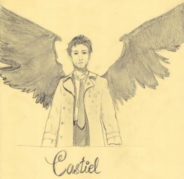 Castiel from Supernatural by Ruthsic