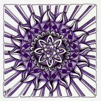 August Mandala 3 by Artwyrd