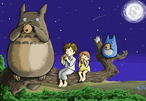 My Neighbor Totoro by m3ru