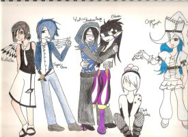 Group Avvie Arts! by AgentNinetalesX