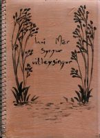 another sketchbook cover by Cecillian