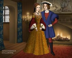 Mary and Philip of Bavaria by TFfan234
