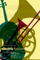 Electric Fusion SymphonyPoster by SuperFlee