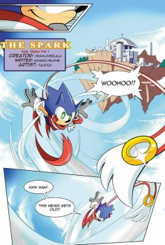 [FANMADE] Sonic Skyline Page 01 by Tale3211
