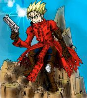 Vash the Stampede by foolyguy