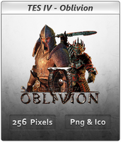 Elder Scrolls IV Oblivion Icon by Crussong