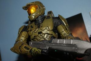 "12"" Master Chief Figure by firedragonmatty"