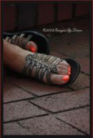 Orange Toes by SassyPants61762