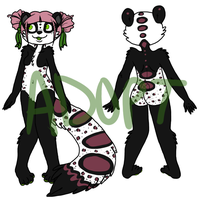 Leopard Panda - sold by zenia