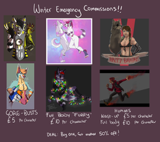 Commission Sheet HELP PLEASE by StahliStorm