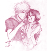 Request: IchiRuki by ravefirell