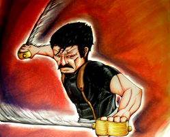 Wrath The Furious --Traditional-- by TheGoodDoctorIsIn