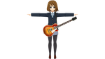 K-On! Houkago Live!! Yui by Haruhi-chan4ever