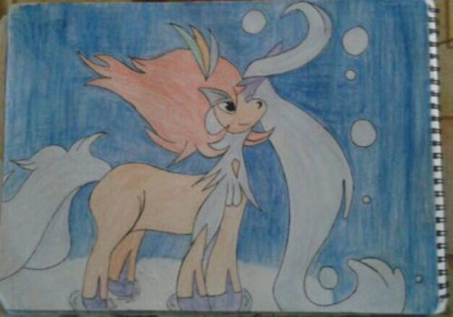 Keldeo resolute form by Pokemonlegen