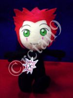 Axel Plushie by rctan9